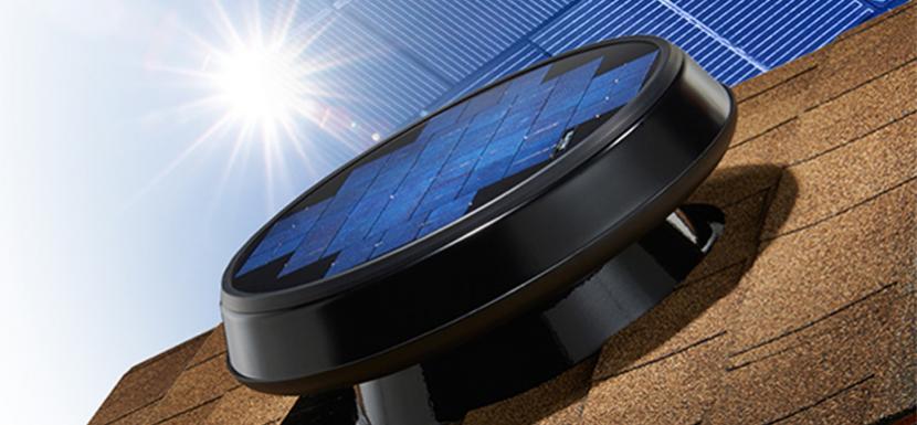 Amazing Solar Star RM 1600 Attic Fan